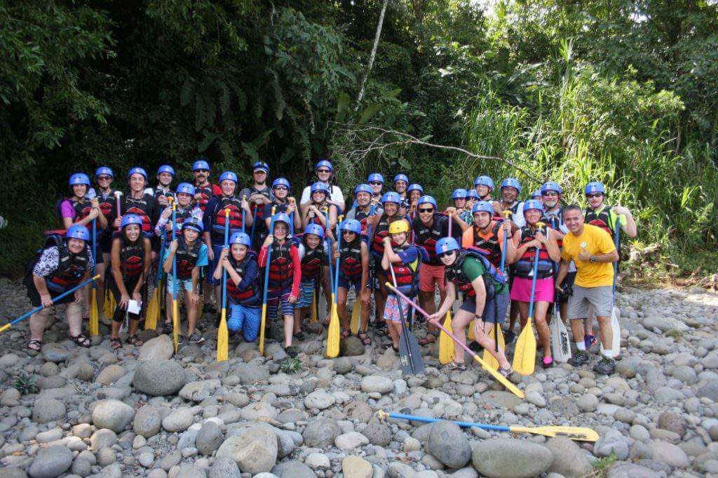 Adventures by Disney Costa Rica with Kids White Water Rafting-Kids Are A Trip