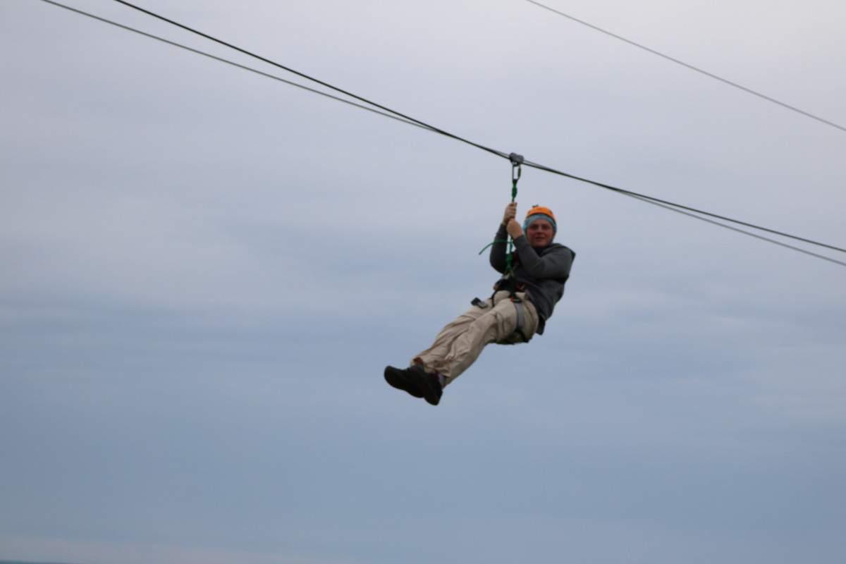 New Brunswick, Canada Road Trip Zipline Cape Enrage-Kids Are A Trip