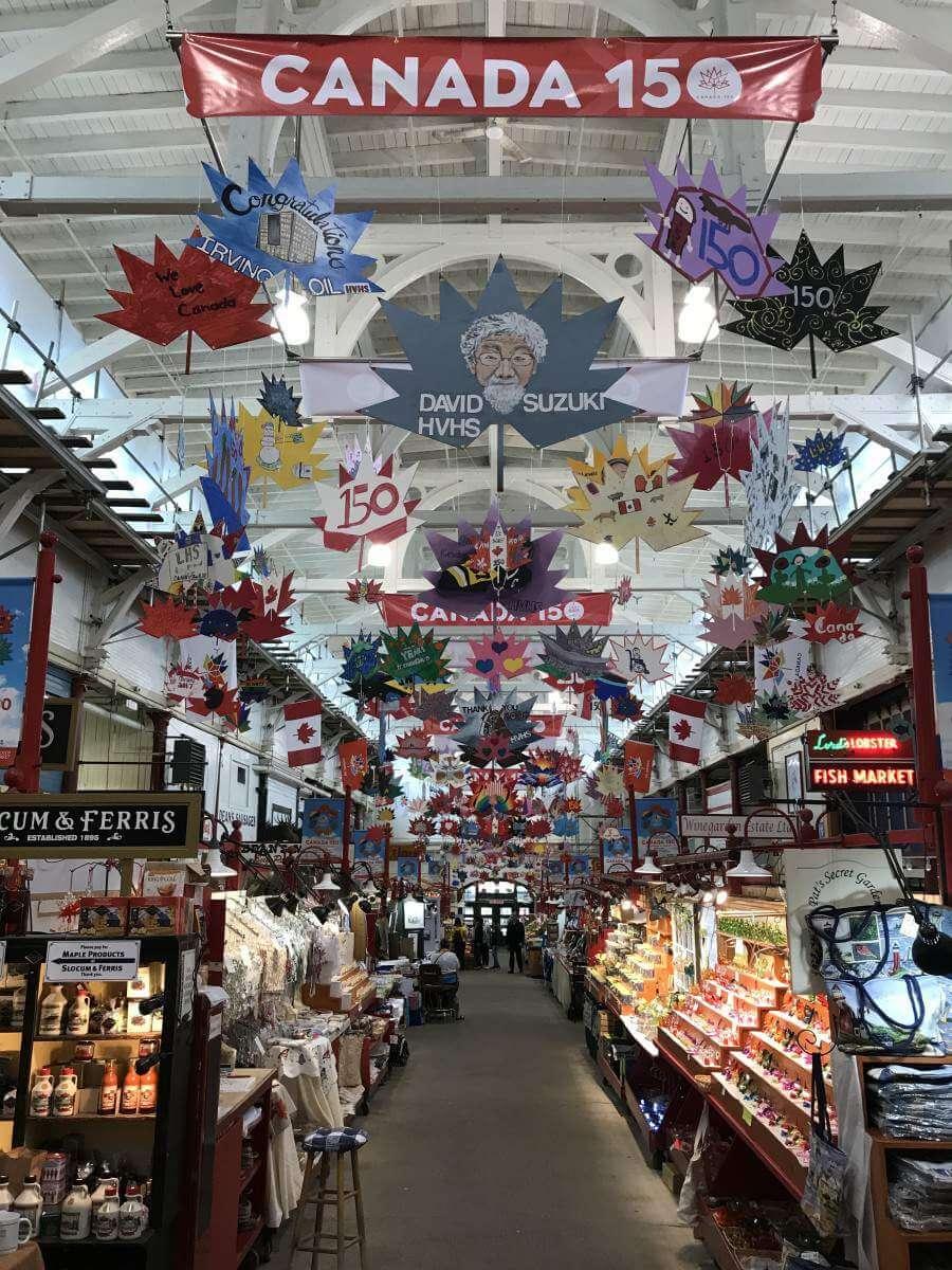New Brunswick, Canada Road Trip Saint John City Market-Kids Are A Trip