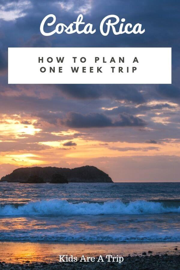 Finding the perfect Costa Rica itinerary isn't easy. We have you covered with different ideas from the beach to the mountains and all the adventures in between! - Kids Are A Trip