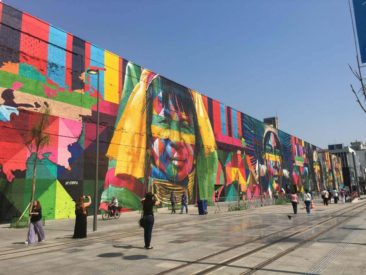 Family Friendly Things to Do in Rio Visit Ethnicities Mural by Eduardo Kobra-Kids Are A Trip