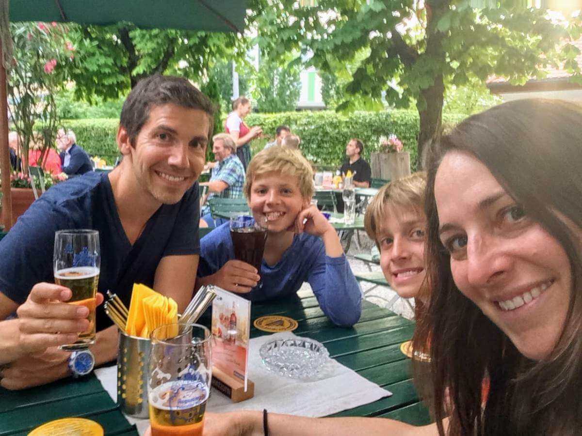 Family Friendly Things to Do in Salzburg Beer Garden-Kids Are A Trip