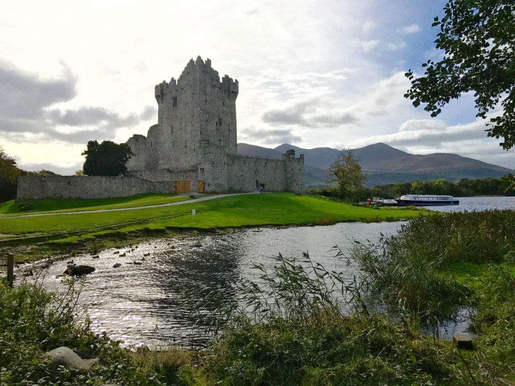 Ross Castle in Ireland - Kids Are A Trip