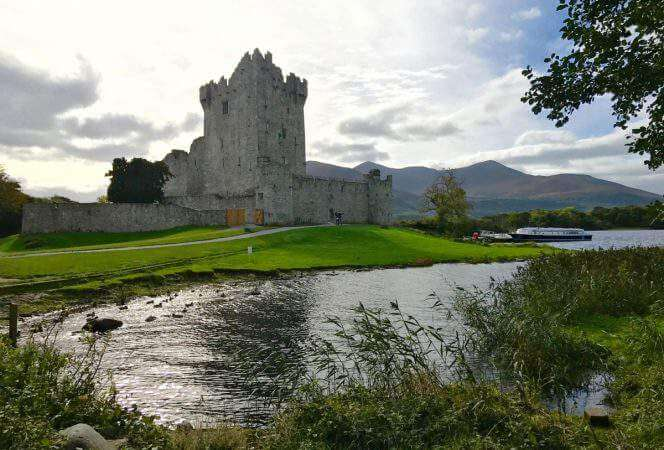 Ross Castle in Ireland - Kids Are A Trip