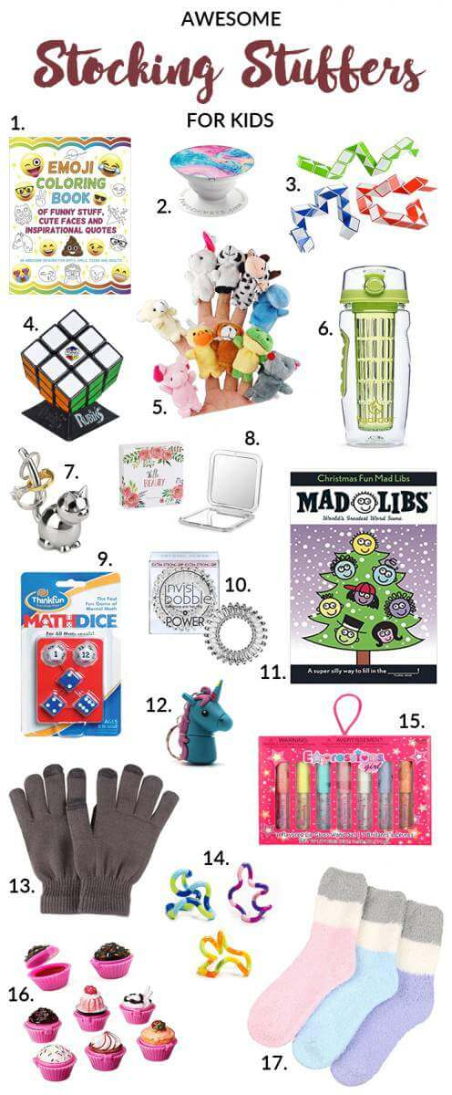 Gift Guide Best Stocking Stuffers for Kids-Kids Are A Trip