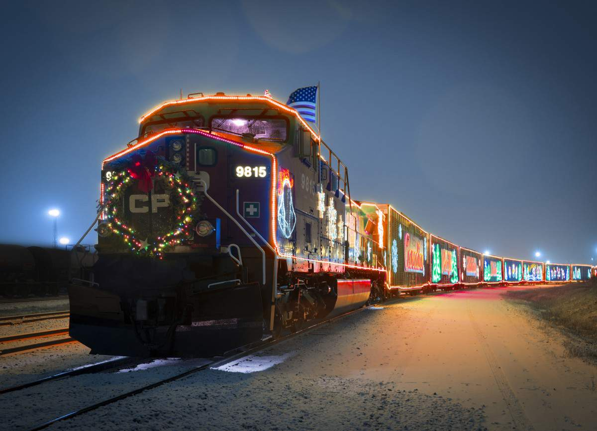 CP Holiday Train Best Holiday Events in the Midwest-Kids Are A Trip