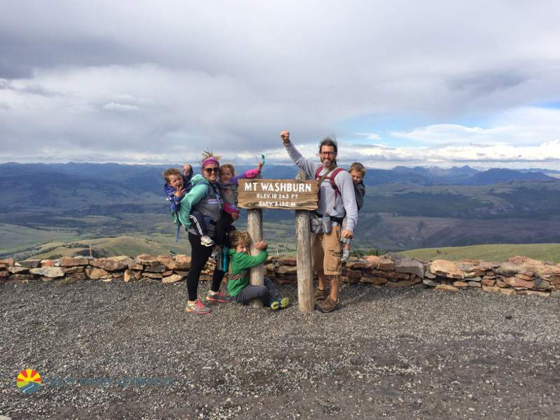 Family Friendly Things to Do in Yellowstone Mount Washburn-Kids Are A Trip