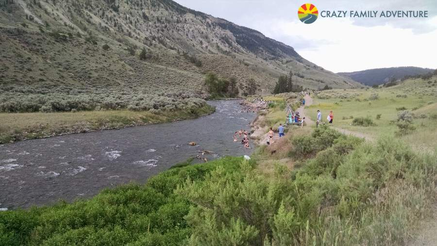 Family Friendly Things to Do in Yellowstone Boiling River-Kids Are A Trip