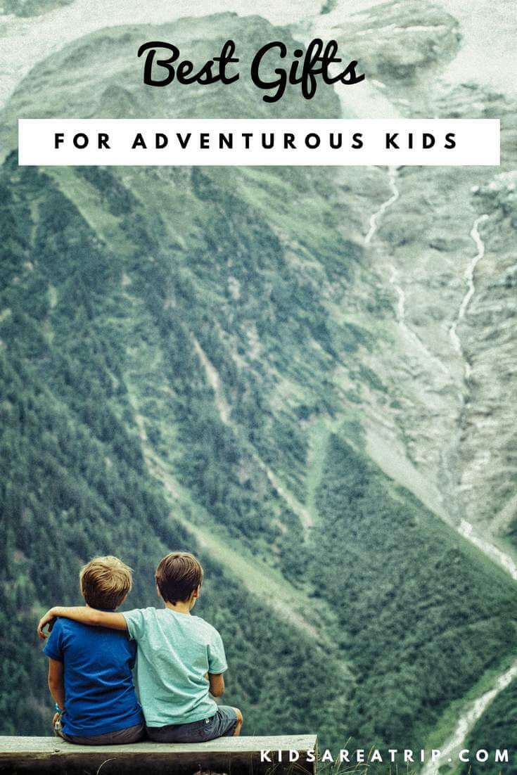 If your kids love to explore or you just want to get them outdoors, we have you covered! Check these best gifts for kids who love adventure! - Kids Are A Trip