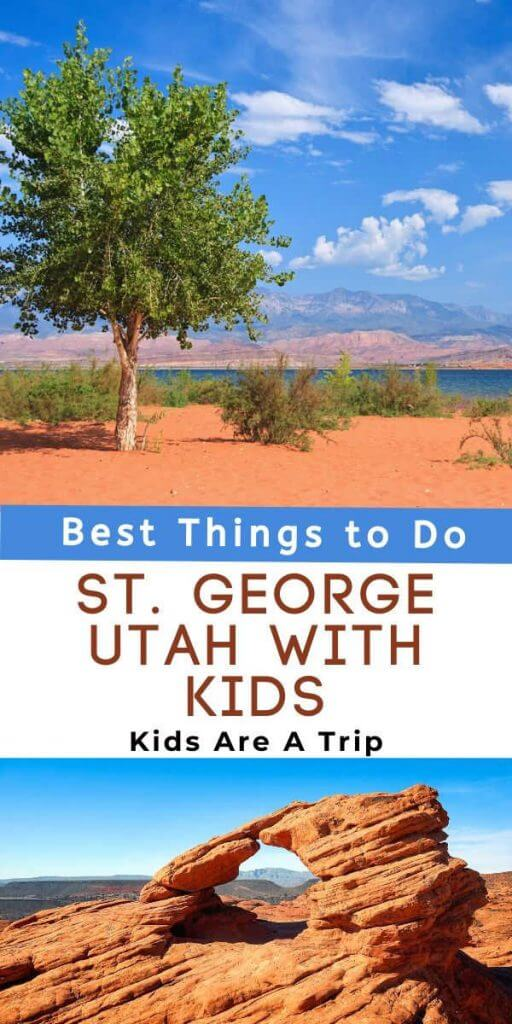 St George Utah with Kids-Kids Are A Trip