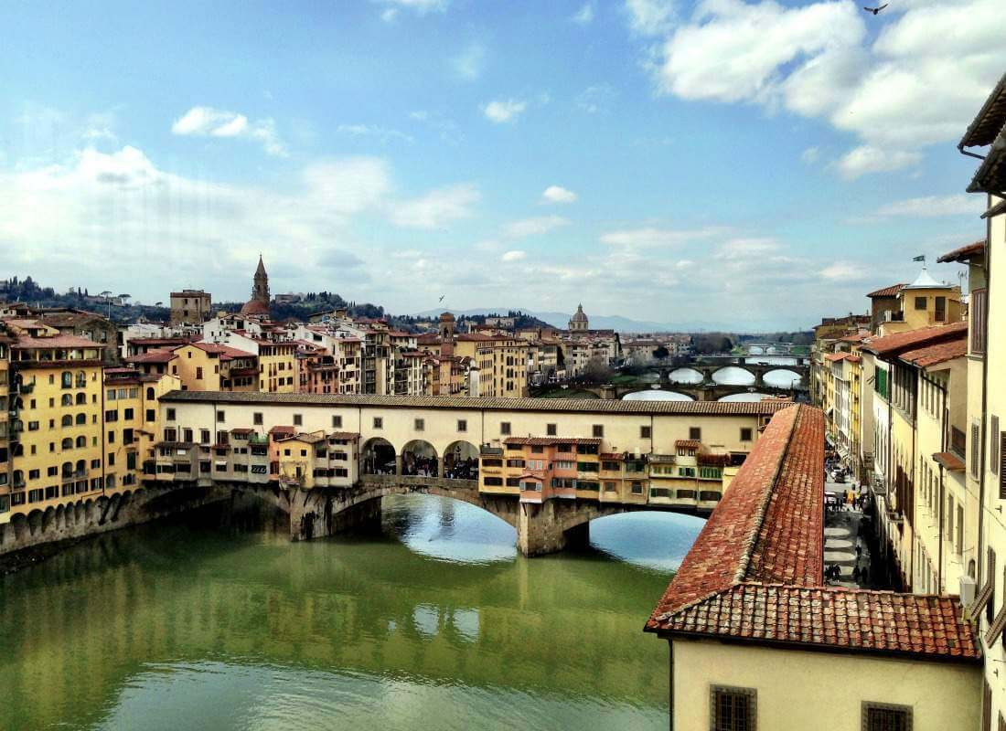 Ponte Vecchio Visiting Florence with Kids-Kids Are A Trip