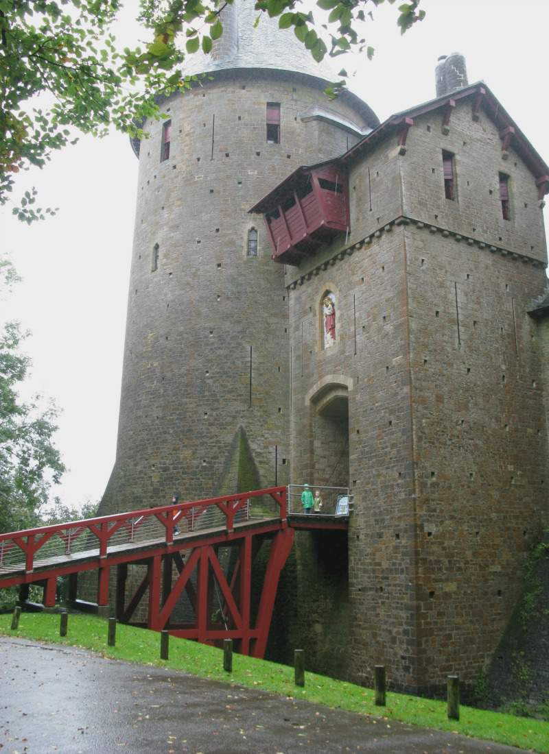 Castell Coch Castles in Wales to Visit-Kids Are A Trip