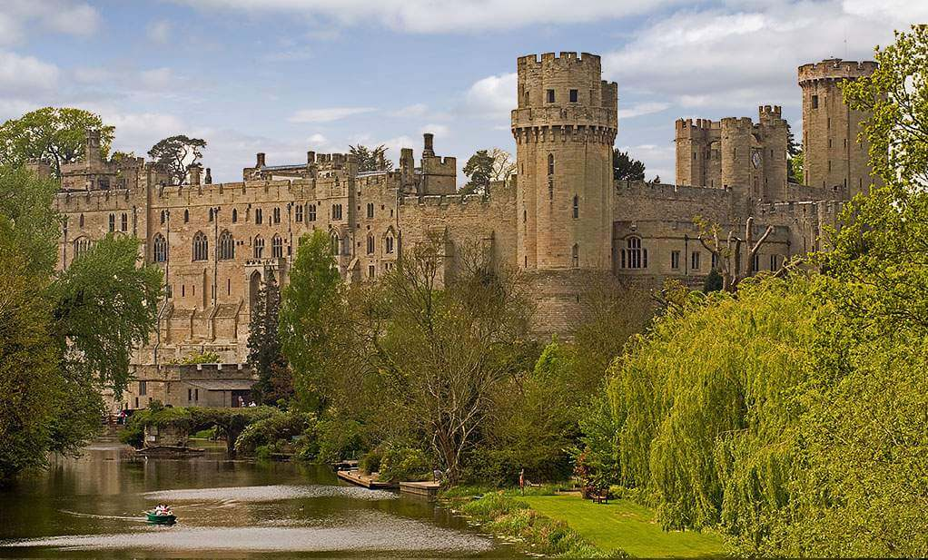 Warwick Castle in England-Kids Are A Trip