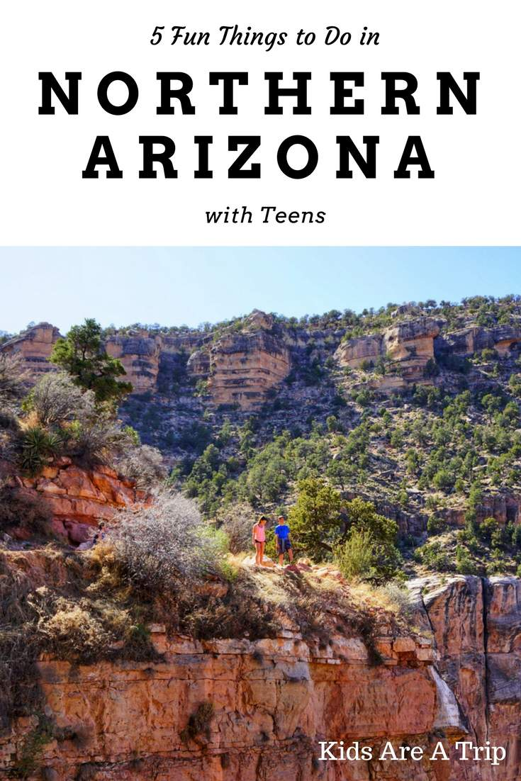 Northern Arizona is made for outdoor adventures and exploring with teens. We're sharing some amazing adventures to have in the area from our teen writers. Here's 5 fun things to do in Northern Arizona with teens. - Kids Are A Trip