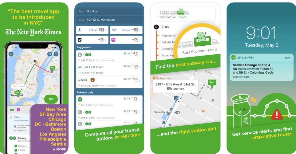 Best Travel Apps 2018 App for Travel Citymapper-Kids Are A Trip