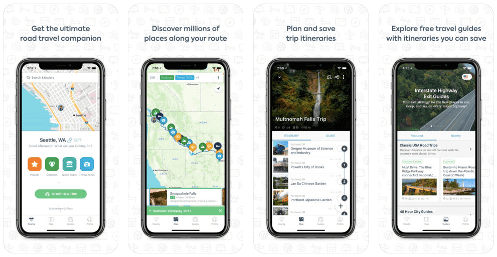 Best Travel Apps 2018 App for a Road Trip Roadtrippers-Kids Are A Trip