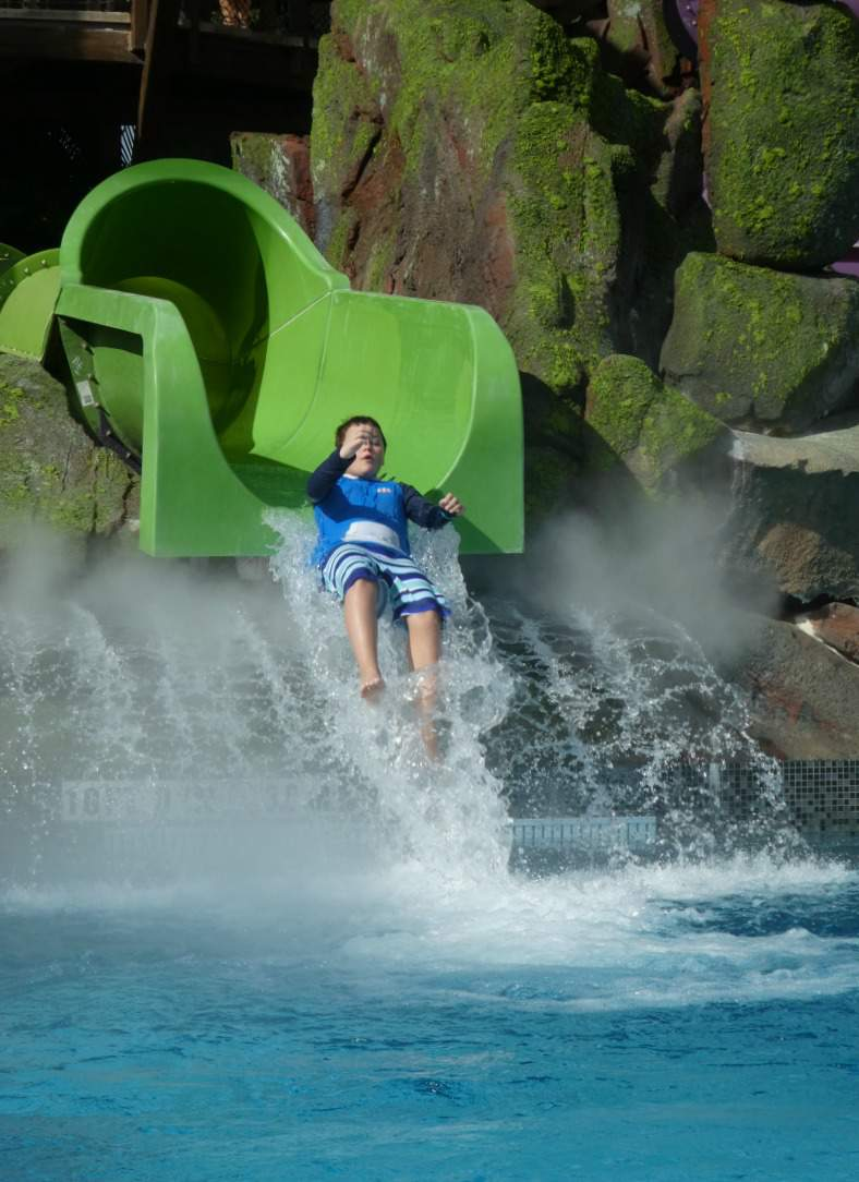 Ride the OhYah Waterslide at Universal's Volcano Bay-Kids Are A Trip