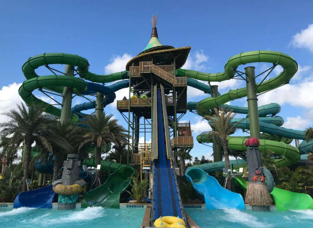 Volcano Bay Orlando Water Park Slides-Kids Are A Trip
