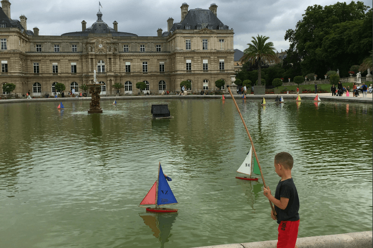 Jardin du Luxembourg with Kids Playgrounds in Paris-Kids Are A Trip