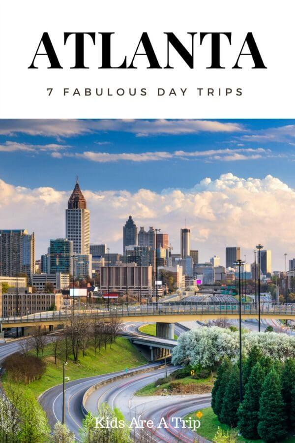 If you find yourself in the Atlanta area and want to escape the city life, check out these day trips from Atlanta. They are a great way to see the rest of Georgia. - Kids Are A Trip