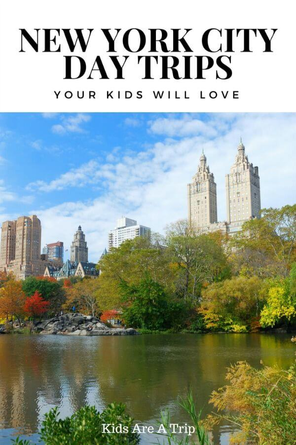 New York City can be amazing, but it can also be fun to get out of the city and explore for the day. Check out these day trips from NYC to change things up on your next trip! - Kids Are A Trip