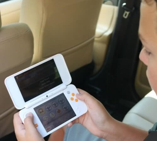 Pack a Nintendo 2DS XL on your next road trip. Kids will love them! - Kids-Are-A-Trip