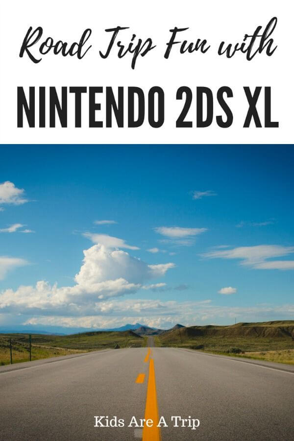 If you're looking for summer road trip fun, check out the Nintendo DS XL. Kids will love all of the console's fun games and features! - Kids Are A Trip