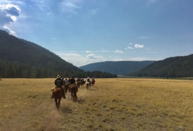 Tumbling River Ranch is the ultimate family dude ranch vacation. With riding, hiking, fishing, and more, it has everything you need to have the perfect dude ranch experience. - Kids Are A Trip
