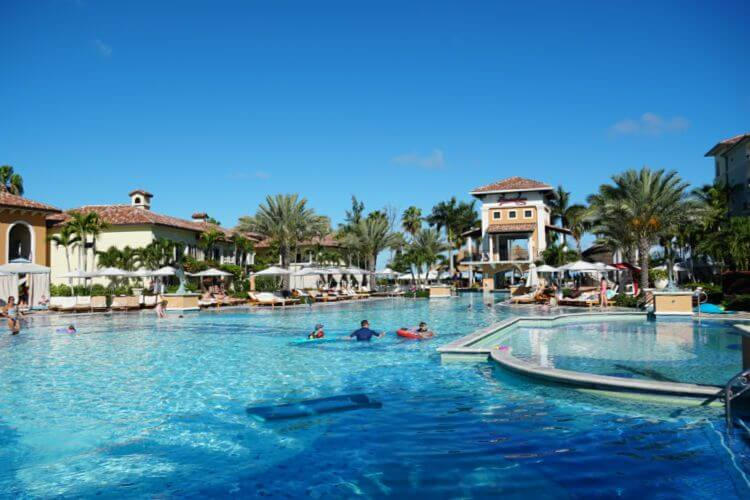 Italian-Village-Pool-Beaches-Turks-and-Caicos-Kids-Are-A-Trip