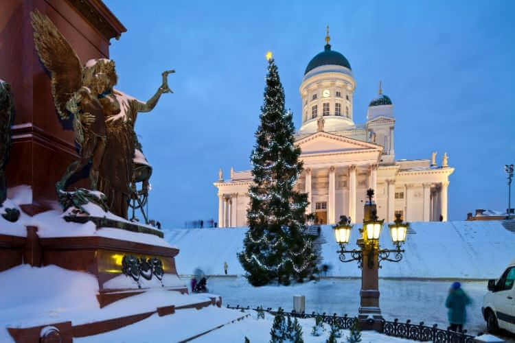 Helsinki at Christmas-Kids Are A Trip
