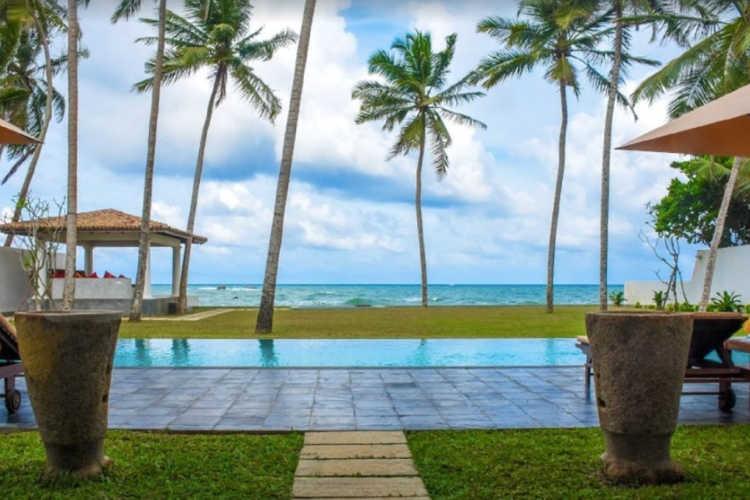 Sri Lanka ocean front villa