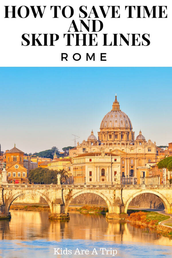 Rome can be crowded any time of year, so why not have a plan before your visit? Here's how to skip the line at The Vatican and Colosseum and see your favorite sights without the crowds.-Kids-Are-A-Trip