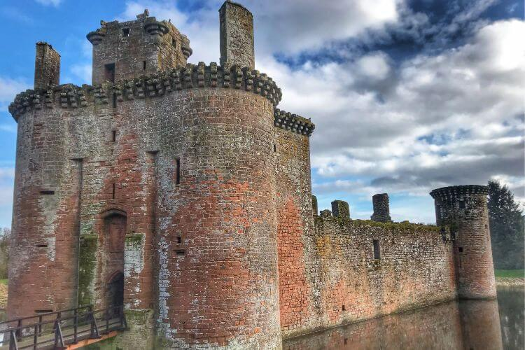 Caerlaverock-Castle-Scotland-Ancestry-Travel-Kids-Are-A-Trip