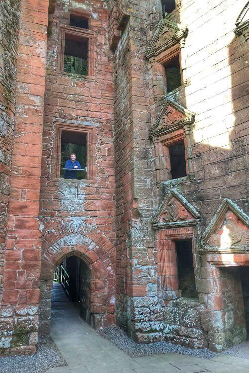 Inside-Caerlaverock-Castle-Maxwell-Clan-Kids-Are-A-Trip