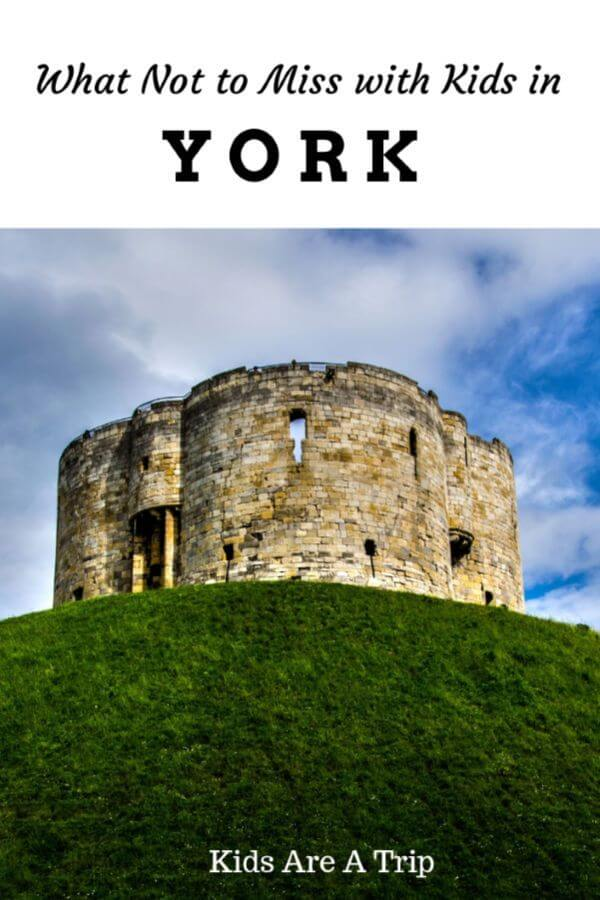 If you're looking for an ideal weekend getaway in the UK, head to York. With fun places to explore and Viking history, there are plenty of things to do in York with kids. - Kids Are A Trip