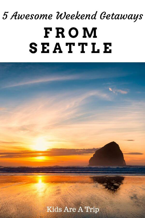 If you want to explore more of the Pacific Northwest, why not try some road trips? Here are the best weekend getaways from Seattle for families to inspire your next vacation. - Kids Are A Trip