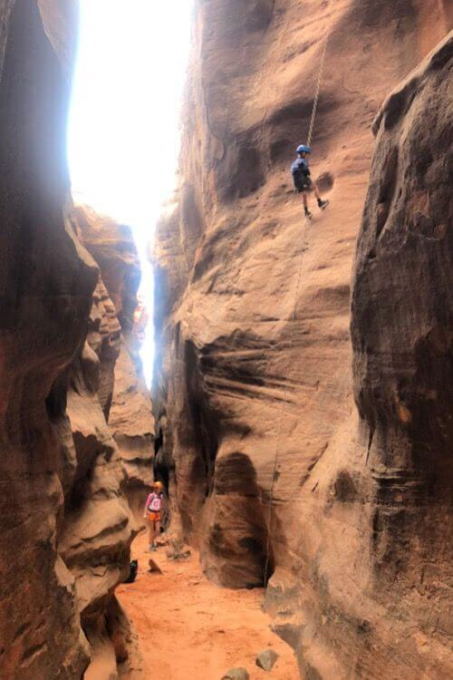 Canyoneering in Zion-Kids Are A Trip