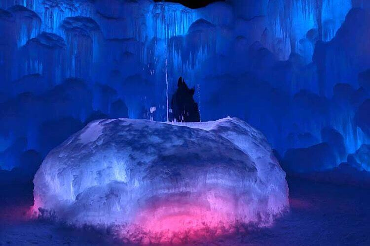 Ice Castles Utah-Kids Are A Trip