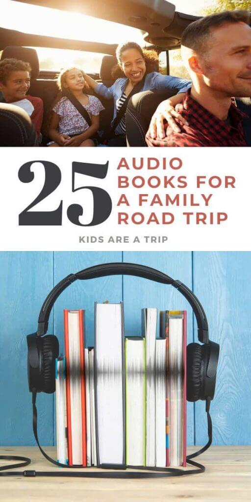 25 Audio Books for a Family Road Trip