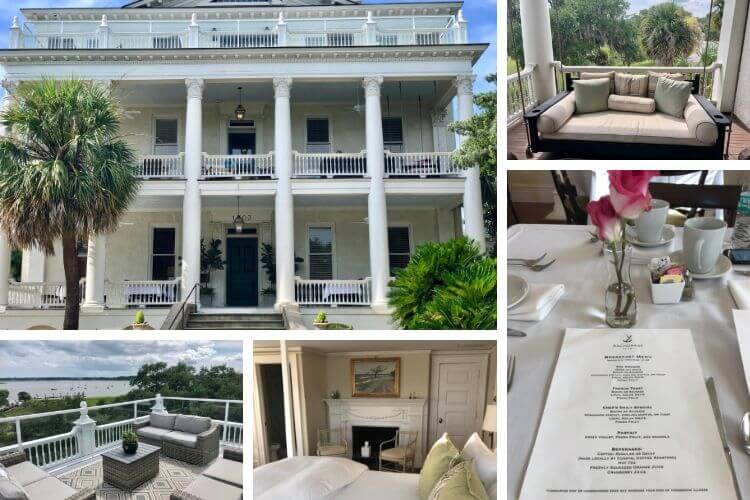 Best places to stay in Beaufort include the Anchorage 1770 as the only waterfront inn with complimentary breakfast.