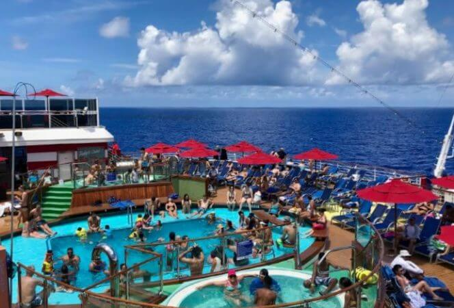 If you are interested in sailing the Southern Caribbean on Carnival's newest cruise ship, you are in luck! We are sharing our Carnival Horizon review to help you plan your vacation. - Kids Are A Trip
