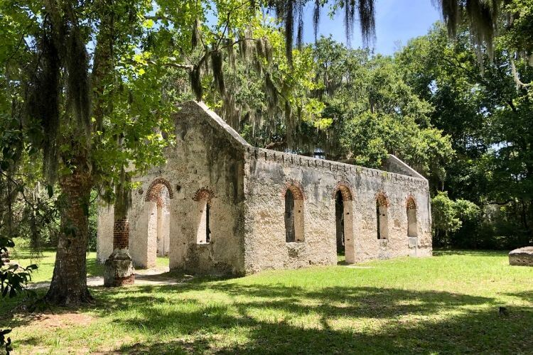 Make a trip to St. Helena Island to see the Chapel of Ease.