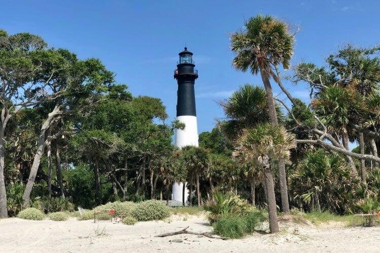The Hunting Island Lighthouse is the only publicly accessible lighthouse in the state of SC.