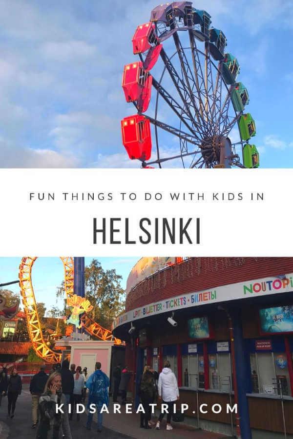 Ferris Wheel Helsinki Finland-Kids Are A Trip