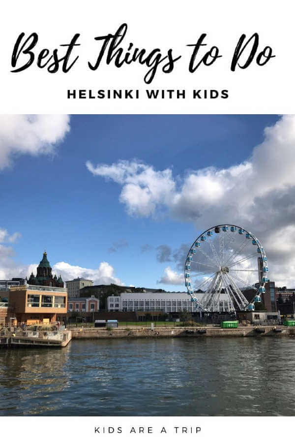 Helsinki Waterfront and Ferris Wheel-Kids Are A Trip