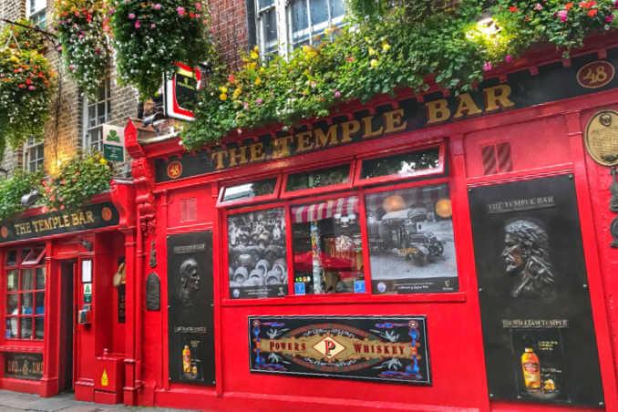 Temple Bar Pub Dublin-Kids Are A Trip