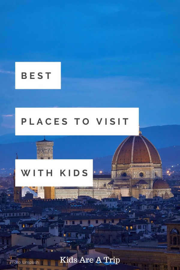 Florence Italy night time - Kids Are  ATrip