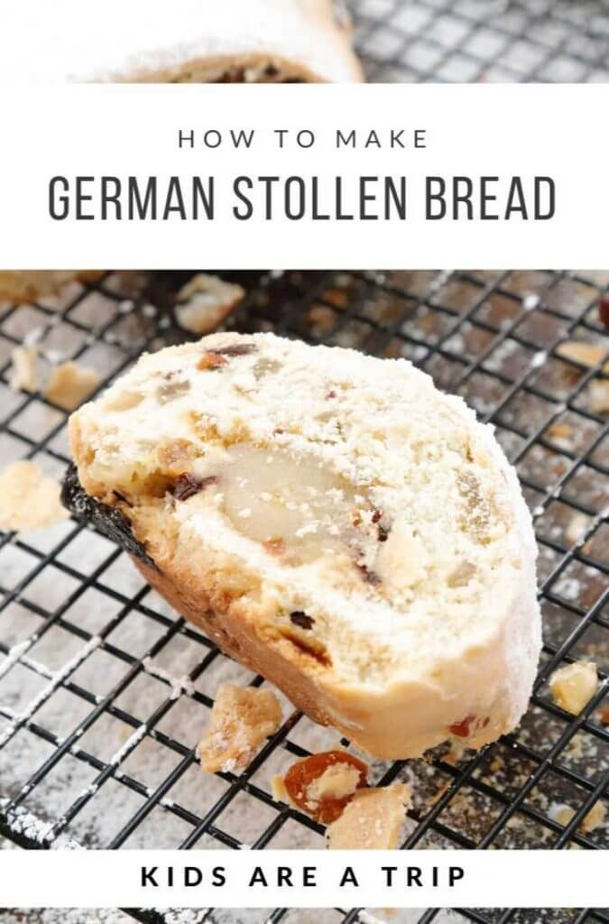 how to make stollen bread recipe