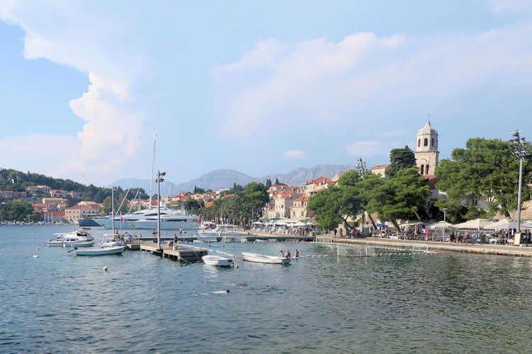 Cavtat Croatia harbor