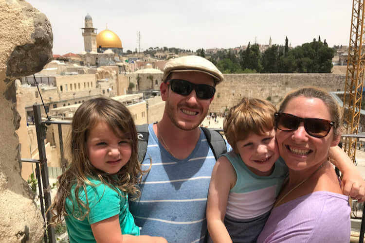 Israel with Kids The Family Voyage